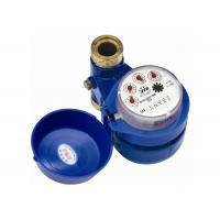 DN15 Vertical Type Multi Jet Water Meter , Magnetic Drive Residential Water Meter Manufactures