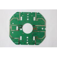Cheap Custom Double Copper Multilayer PCB with RoHS With Green Solder Mask for sale