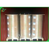 100gsm - 160gsm Glossy Coated Paper , Greaseproof One Side PE Coated Paper For Food Bag Manufactures