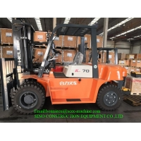 420Km/h 7 T Diesel Forklift Truck For Container Operation Inside Manufactures
