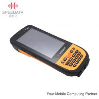 Wireless IP65 Handheld Police Scanner with Barcode / 1.5m Level Manufactures
