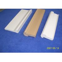 White Water Proof PVC Decorative Mouldings 7ft Backband Astragal For Door Manufactures