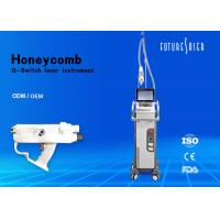 1064nm 532nm  Laser Tattoo Removal Equipment Air And Water Cooling Manufactures