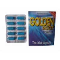 China Golden root Hard Strong Health Food Male Enhancement Sex Pills on sale