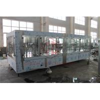 Gravity Plastic Bottle Filling Machine With Shrink Wrapping Equipment  4 in 1 Manufactures