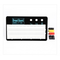 White  ZY-W1201 830 Tie-points Solderless Prototype Breadboard   with Metal Plate Manufactures