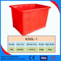 2013 High Quality Plastic Turnover Box /Crate Manufactures
