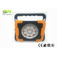 Waterproof Rechargeable LED Work Light With Rotating Stand And Handle Manufactures