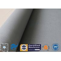 Buy cheap 1600GSM 1.2MM Gray Silicone Coated Fiberglass Fabric For Flexible Joints from wholesalers