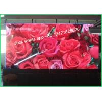 P6 Led Video Screen Rental for Stadium With Aluminum Cabinet SMD3528