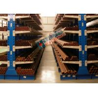 Durable Double Sided Cantilever Rack Galvanized Warehouse Racking Shelves Manufactures