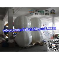 White 1.0mm  TPU Inflatable Bumper Ball Rental ODM / OEM Available Manufactures