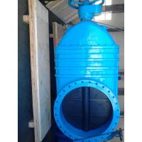 Blue Large Bore Resilient Seated Gate Valves Over 600mm BS Standard