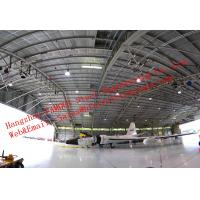 Buy cheap Water Proof Insulated Prefabricated Steel Structure Aircraft Hangar For Private from wholesalers