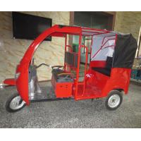 Windshield Glass Electric Passenger Tricycle Rickshaw Taxi 40-50km/H
