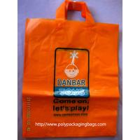 Buy cheap Clothes Packaging Soft Loop Handle Bag With Customized Logo / Retail Shopping from wholesalers