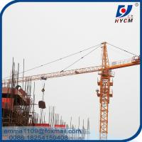 Cheap qtz5008 4t Hydraulic Telescopic Tower Crane CE Certification Safety Work for sale
