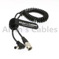 Hirose 4Pin Male to Right Angle DC Jack for Blackmagic Sound Devices ZOOM F8 Manufactures