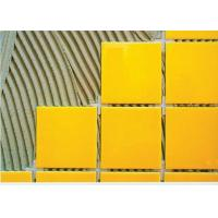 Heat Resistant Outdoor Tile Adhesive For Mosaic And Leatheroid Brick Manufactures