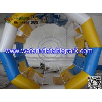 Cylinder Inflatable Water Roller Ball , Inflatable Fun Roller Water Games Manufactures