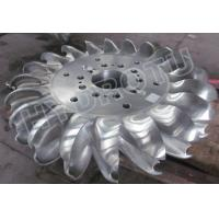 500m High Head Pelton Turbine Runner With two Nozzles and forged CNC machining Runner Manufactures