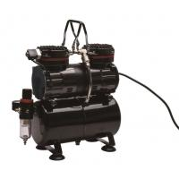 TC-90T Compact Airbrush Compressor , Aircraft Airbrush Compressor With Tank Manufactures