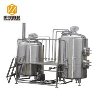 Industrial Craft Beer Brewing Equipment 1000L Conical Fermenters Steam Heating