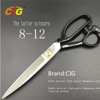 """8"""" - 12"""" Stainless Steel Tailor Scissors For Cutting Fabric , Leather Manufactures"""