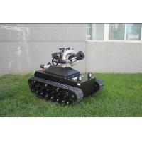 Quality CE Approval Fire Rescue Equipment / Fire Fighting Robot Working Time 5h for sale