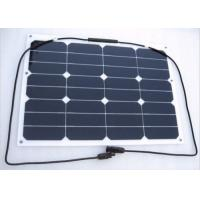 China 30W Electric Car / Roof Flexible RV Solar Panels Aerodynamic Durable on sale
