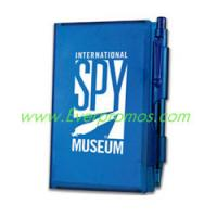 Hard Cover Note Pad With Pen Manufactures