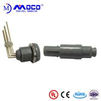 1P Grey Shell 8 Pin Circular Plastic Connector Manufactures