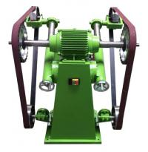 Welding Parts Automatic Polishing Machine Sand Belt Metal Polishing 255kg Manufactures