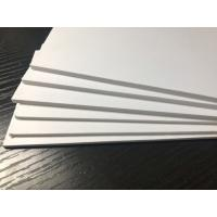 China Outdoor White PVC Extruded Foam Board High Impact Anti - Corrosion ISO9001 on sale