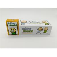 Buy cheap Customized Cyanide And Happiness Cards With Different Size Paper Card Material from wholesalers