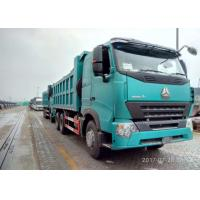 6 By 4 Ten Wheels Construction Tipper Truck For 10 Cubic Meter , HW13710 Transmission Manufactures
