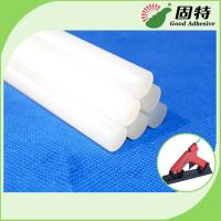 Cheap Light White Bookbinding Hot Melt Glue For Side Glue For Shoe , Toys , PC, Craftwork for sale