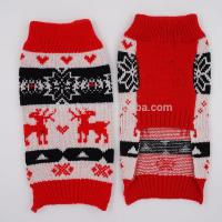 2017 95%Acrylic 5%Spandex 16inch 60g Competive Price Pup Puppies Small Animals Poodle Harness Knit Pet Sweater Pussy Manufactures