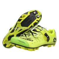 Customized Moistureproof MTB Cycling Shoes , Lightweight Mountain Bike Shoes Manufactures