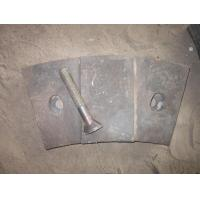 OEM High Chrome White Iron Mill Liners with Bolts Inspected by Visual and UT Test