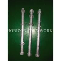 HDG M16 Concrete Forming Accessories Bolts And Nuts With Spring Washers For Electricity Towers Manufactures