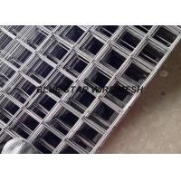 304 316 Stainless Steel Welded Wire Mesh Panel Strong Structure Square / Rectangular Aperture Manufactures