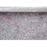 Dark Grey 5mm Felt 240gsm Recycled Felt Fabric Backing With PE Film For Decorating Manufactures