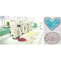 "Dahao 8"" LCD Mixed Flat / Coiling / Tapping Computerized Embroidery Machine Manufactures"