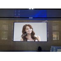 Cheap P1.56 SMD1010 indoor HD LED display / video wall with 400x300mm light cabinet for sale