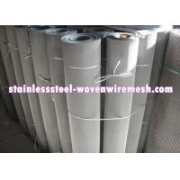 250 - 635 Mesh Stainless Steel Wire Cloth , Woven Metal Mesh Anti - Corrosion Manufactures