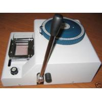 China Embossing Machine,Manual Card Embosser Credit Card on sale