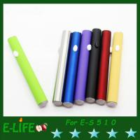 best selling for ES 510 E Cigarette Battery 180mAh/280mAh 510 Battery With diamond bottom Manufactures