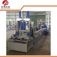 China Gray Color 380v C Purlin Forming MachineWith Hydraulic Punching Device on sale