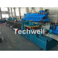 China Galvanized / Carbon Steel CZ Shaped Roll Forming Machine For 0-15m/min Forming Speed on sale